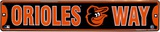 Baltimore Orioles Tin Sign