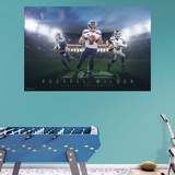 NFL Russell Wilson 2015 Montage RealBig Mural Wall Mural