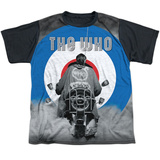 Youth: The Who- Modrophenia Black Back T-shirts