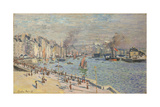 Port of Le Havre, 1874 Premium Giclee Print by Claude Monet
