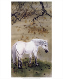 White Horse, 1889-1933 Prints by Gao Qifeng