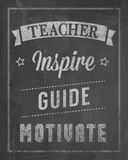 Inspiring Teacher I Giclee Print by Tom Frazier