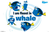 Finding Dory- Fluent In Whale Prints