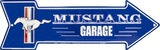 Ford Mustang Garage Tin Sign