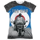 Juniors: The Who- Modrophenia Womens Sublimated