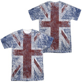 The Who- Distressed Union Jack (Front/Back) T-Shirt