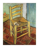 Vincent's Chair, 1888 Premium Giclee Print by Vincent van Gogh