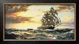 Squally Weather Posters by Montague Dawson