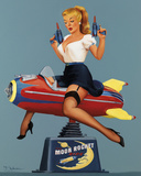 Moon Rocket Ride 高画質プリント : Fiona Stephenson