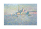 The Church of San Giorgio Maggiore, Venice, 1908 Premium Giclee Print by Claude Monet
