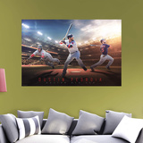 MLB Dustin Pedroia 2016 Montage RealBig Mural Wall Mural