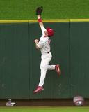 Jim Edmonds 2001 Action Photo