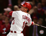 Jim Edmonds Walk-Off Home Run Game 6 of the 2004 National League Championship Series Photo