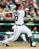 Magglio Ordonez 2008 Batting Action Photo