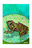 (Florida Is...) Frogs Giclee Print by Xavier Cortada