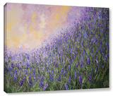 Lavender Rain Gallery Wrapped Canvas by Colette Baumback