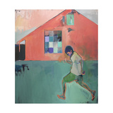 Gotta Run Giclee Print by Charlotte Evans