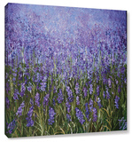 Lavender Haze Gallery Wrapped Canvas by Colette Baumback