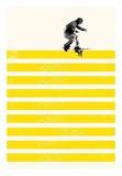 Slide in Stripes Poster par Robert Farkas