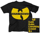 Wu Tang- Logo Tričko