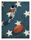 American Sports: Football 2 Plakater av  GraphINC