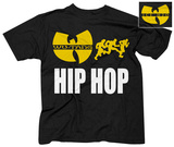 Wu Tang- Run Hip Hop (Front/Back) T-Shirts