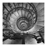 Spiral Staircase No. 2 Prints by  PhotoINC Studio