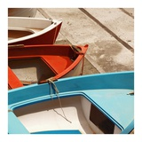 Colorful Boats Prints by  PhotoINC Studio