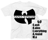 Wu Tang- C.R.E.A.M. (Front/Back) T-Shirts