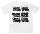 Cheap Trick- Stacked Logo Tshirt