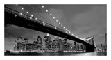 Brooklyn Bridge View Poster by  PhotoINC Studio