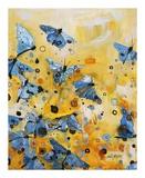 Metamorphosis Yellow Poster af Britt Freda