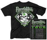 Cypress Hill- 25th Anniversary Tour (Front/Back) Vêtements