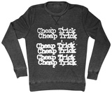 Long Sleeve: Cheap Trick- Stacked Logo Vêtements