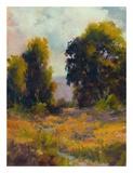 Eucalyptus Path Print by Alice Weil
