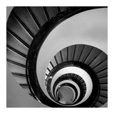 Spiral Staircase No. 3 Prints by  PhotoINC Studio
