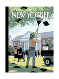The New Yorker Cover - May 30, 2016 Regular Giclee Print by R. Kikuo Johnson