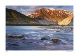 Alsek River II Giclee Print by Donald Paulson