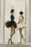 Ballerinas Limitierte Auflage auf Leinwand von Elise Remender