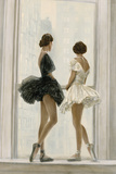 Ballerinas Limited Edition on Canvas by Elise Remender