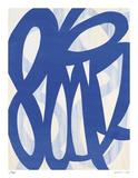 Blue Lucky 8 Limitierte Auflage von Maria Lobo