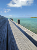 Bonefish Lodge Dock Limited Edition on Canvas by John Gynell