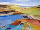 Beach Horizon 22 Limited Edition on Canvas by Barbara Rainforth