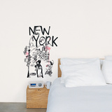 New York (Burfitt) Wall Decal
