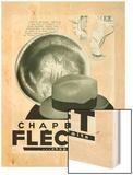 Chapeaux Flechet Wood Print