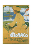 Monaco Exposition et Concours 1904 Metal Print by Adolfo Hohenstein