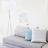 Portrait de Françoise (Picasso) Wall Decal