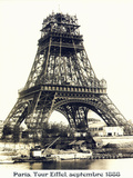 Tour Eiffel Septembre 1888 - Sanat
