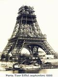 Tour Eiffel Septembre 1888 Metal Print