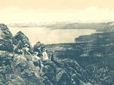 Beautiful Lake Tahoe 1915 - Reprodüksiyon